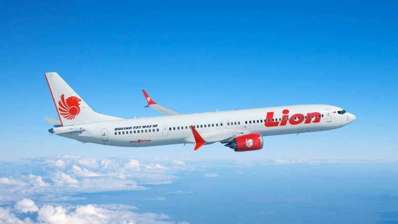Lion Air 737 MAX 10 MAX 8 Simulator
