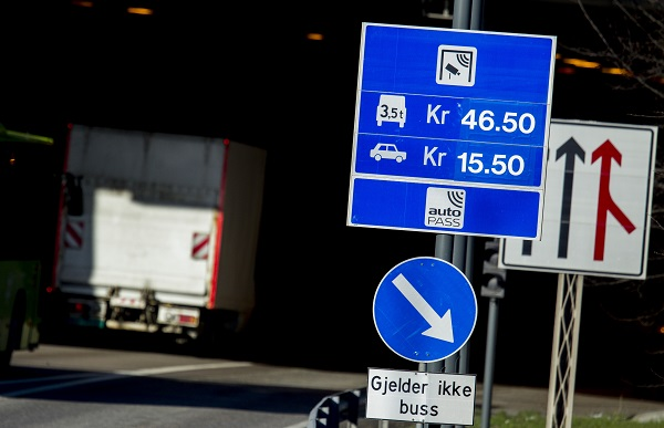 toll station in Oslo