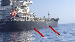 Kokura Courage Tanker Gulf of Oman