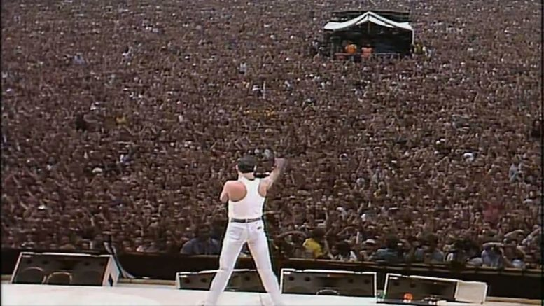 Freddy Mercury Queen Live Aid Anxiety