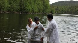 Baptist Church baptism