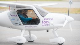 Electric plane Avinor