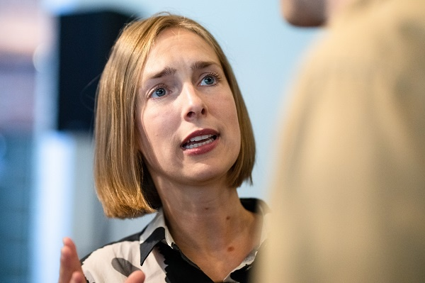 Minister of Trade and Industry Iselin Nybø (Liberal Party)
