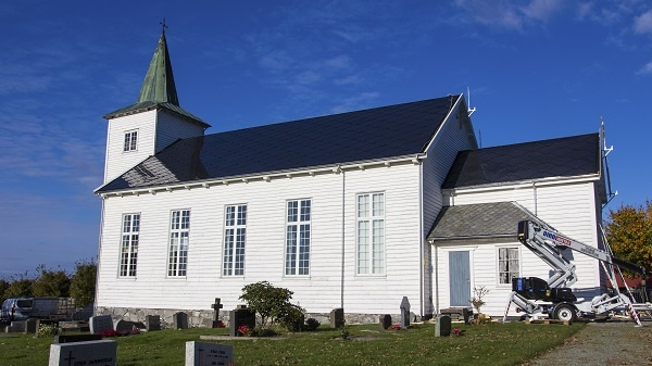 Strand church in Rogaland