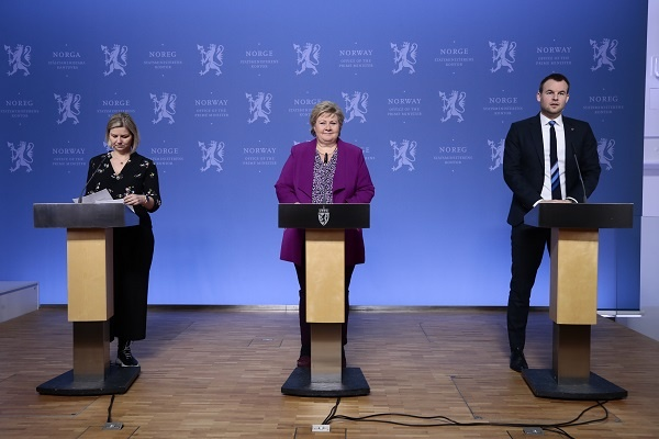 Erna Solberg Answered The Children S Questions About Corona Norway Today
