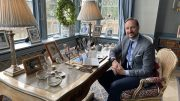 Crown Prince Haakon has a home office