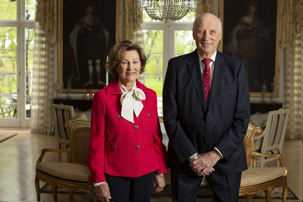 Queen Sonja and King Harald