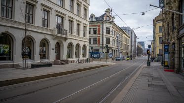 city streets in Oslo