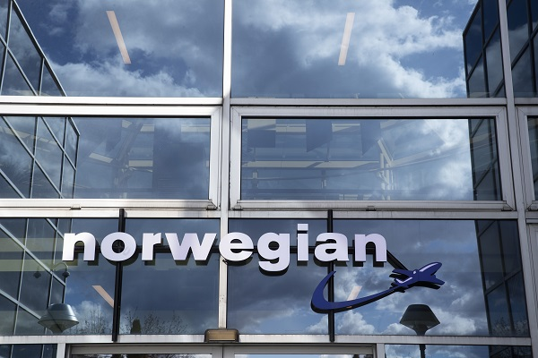 The head office of the airline Norwegian.