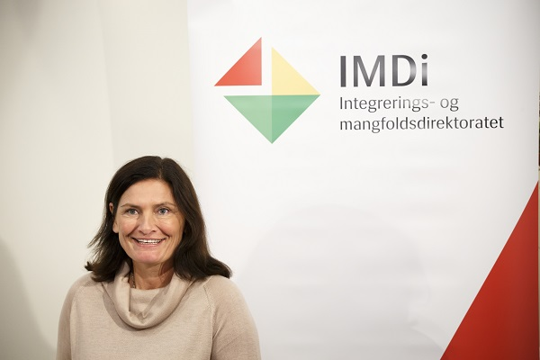Director Libe Rieber-Mohn in the Directorate of Integration and Diversity IMD