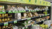 Organic Foods in a Meny Store.