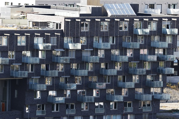 Apartments at Sørenga in Oslo.