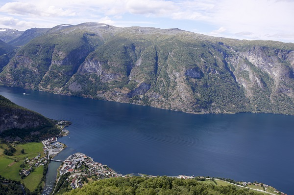 Aurland and the Aurlandsfjord