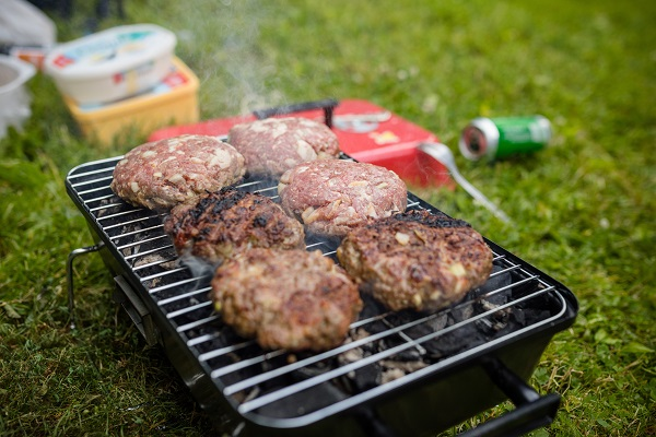 Barbecues in the park