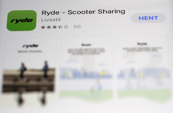 Ryde-Scooter