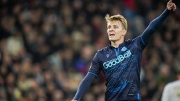 Marin Ødegaard back in Madrid