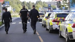 The police moved out to mass fights at Ulven in Oslo.