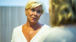 Leader of the Progress Party Siv Jensen