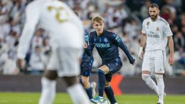 Martin Ødegaard back in Madrid