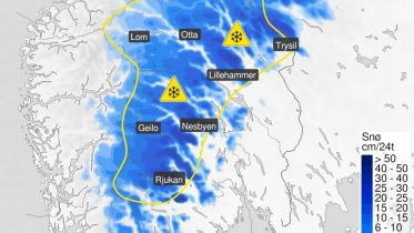 Yellow snow warning