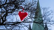 Church love heart