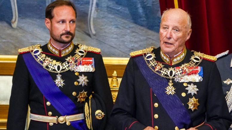 Crown Prince Haakon - King Harald