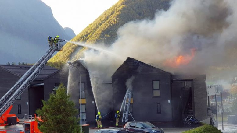 Fire in Åndalsnes