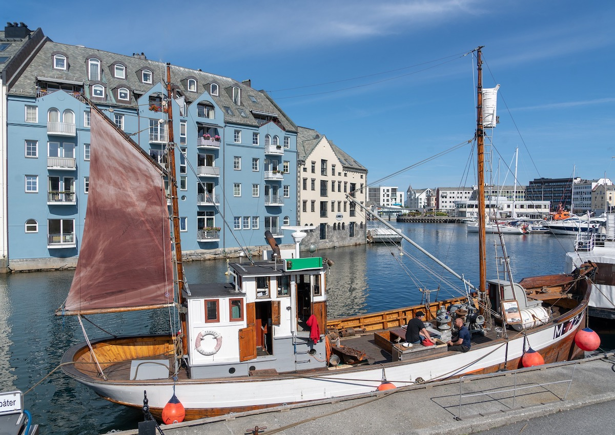Alesund fishing boat