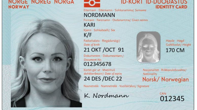 New national ID card