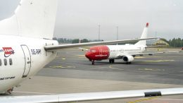 Norwegian plane aircraft