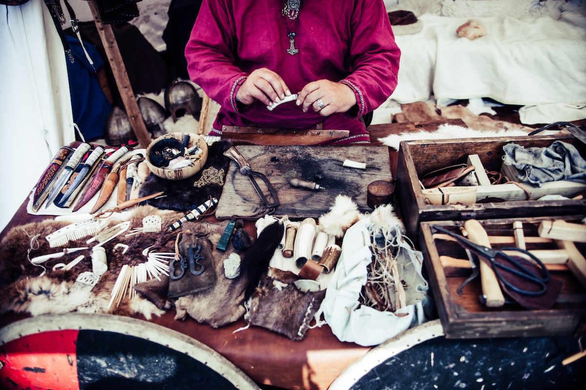 Viking crafts and goods