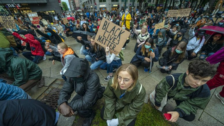 Black Lives Matter protest Norway