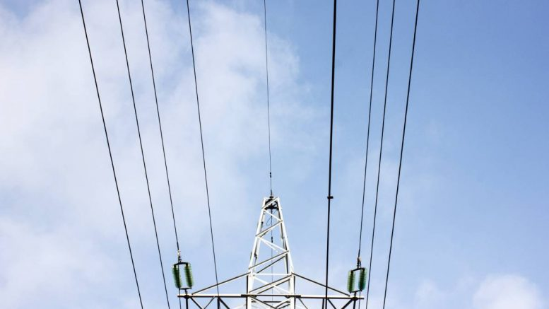 Electricity power grid line