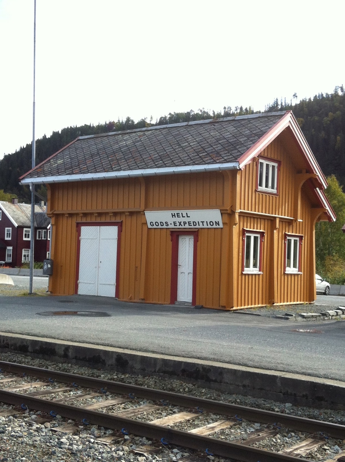 Hell Train Station