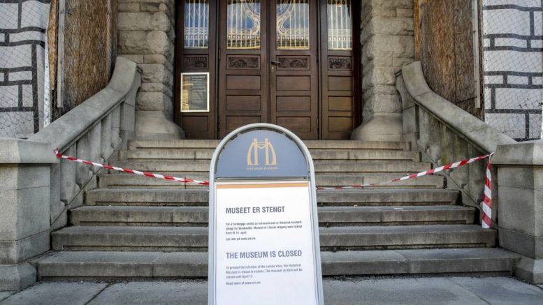 History museum closed
