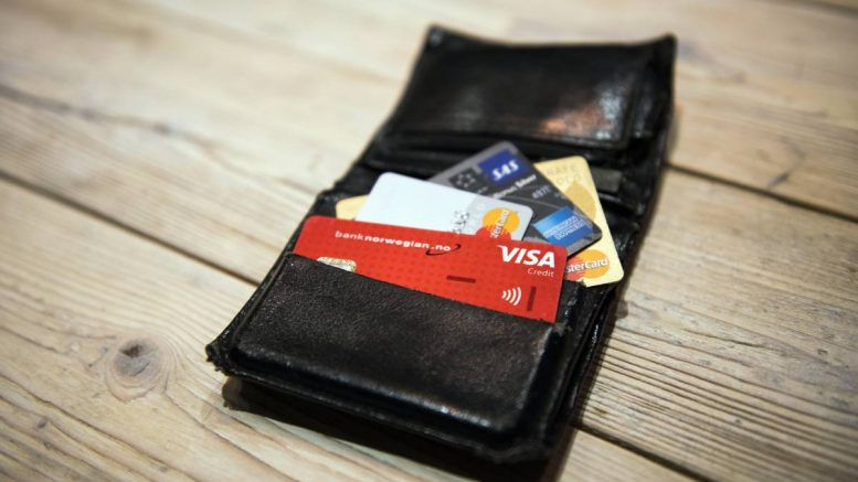 Wallet credit cards