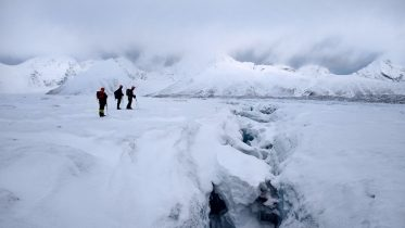 Svalbard ice and snow hike