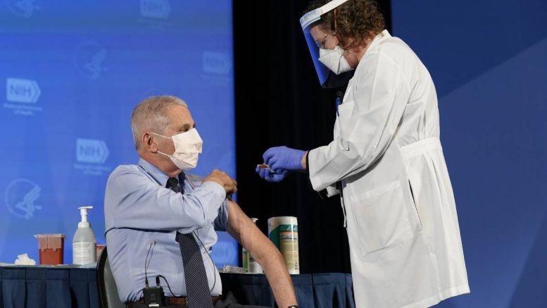 Anthony Fauci - vaccinated