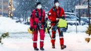 Emergency services - rescue workers