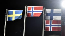 Finland Sweden Norway flags