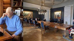 King Harald home office