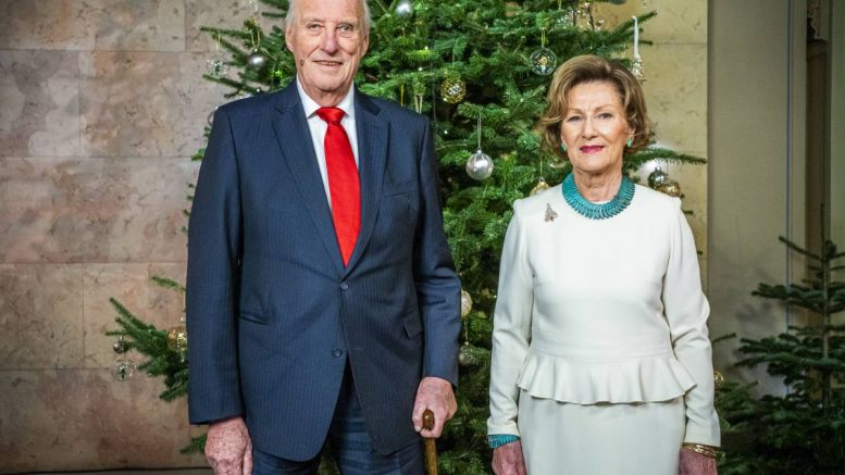 King Harald - queen Sonja