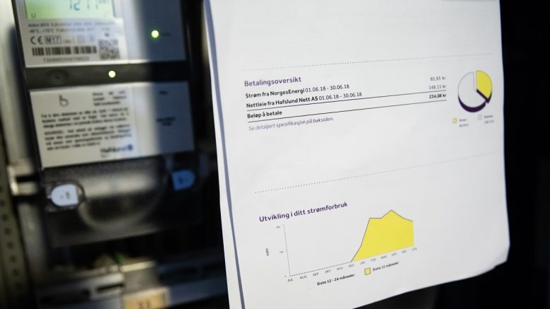 Electricity bill and consumption