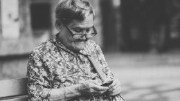Old woman - grandmother