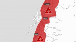 Red warning