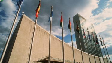 UN United Nations in New York