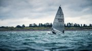 Dinghy boat sailing