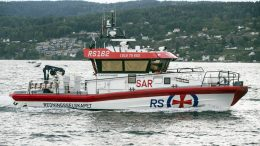 Sea rescue ship - Klaveness Marine