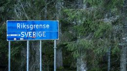 border crossing with sweden
