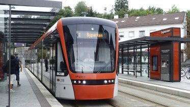 Bybanen - light rail tram - Bergen